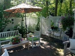 Ideas for patio privacy