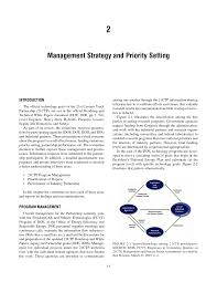100 New Century Trucking 2 MANAGEMENT STRATEGY AND PRIORITY SETTING Review Of The