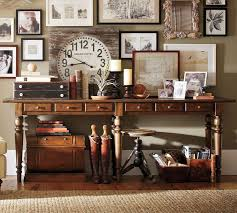 pottery barn console table roselawnlutheran