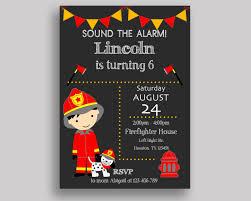 Fireman Birthday Images. Fire Dog Fireman Birthday Card Eeboo ...