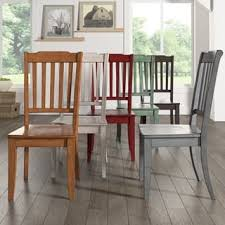 Eleanor Slat Back Wood Dining Chair Set Of 2 By INSPIRE Q Classic