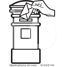 Post it clipart black and white 9