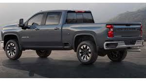 100 New Chevrolet Trucks 2020 Chevy Silverado HD Unveiled Getting V8 And Gearbox