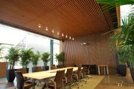 Rulon Wood Grille Ceiling by Wood Applications