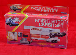 Kenner No.66520 Knight Rider Knight 2000 Crash Set: Consists Of ...