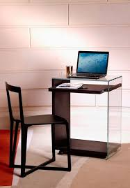 Tempered Glass Computer Desk by Tempered Glass Computer Cabinet With Casters Laptop Zen 7 By Adentro