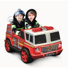 100 Fire Trucks For Toddlers Kid Motorz TwoSeater Engine 12Volt BatteryOperated RideOn