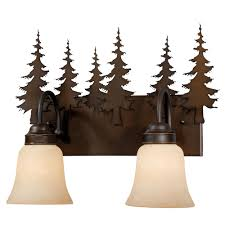 Decorate Your Bathroom With Rustic Vanity Lights Lighting And Cabin