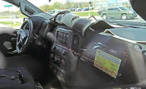 Chevy Tweaks Silverado Interior For 2019 2019 Chevy Silverado 1500 Interior Radio Cargo App Specs Tour 20 Hd Cabin Spy Photos Gm Authority 2018 New Chevrolet 4wd Double Cab Standard Box Lt At Chevygmc Center Console Tape Deck Removal Youtube The Top 4 Things Needs To Fix For Speed 3500hd Reviews 1962 Panel Truck Remains On The Job Console Subs Lowrider Diy Projects Pinterest Safe 2014 Up Gmc Sierra Also 2015 42017 Front 2040 Split Bench Seat With Crew Short Rocky