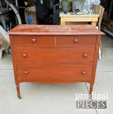 Vintage Chest Before Makeover By Prodigal Pieces