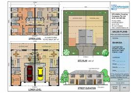 100 Townhouse Design Plans Plan