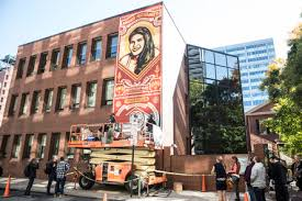 Philadelphia Mural Arts Internship by Shepard Fairey U0027s Latest Mural Calls Attention To Prison Reform