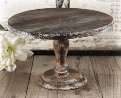 Image Of Rustic Wood Cake Stand Photos