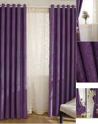 Purple Ruffle Blackout Curtains by Ruffled White Curtains Scalisi Architects