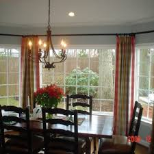 Perfect Dining Room Bay Window Ide Curtains For Windows In