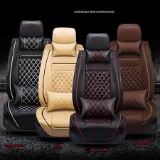 Luxury Breathable PU Leather Car Seat Cover Cushion Pad 3D Surround ... Happypets Luxury Waterproof Pet Car Seat Cover Nonslip Backing And Ds1 Camo Durafit Covers Custom Fit Truck Van For Suv Non Slip Hammock Bonve Dog Pets Liner Durable Nonslip Front Isuzu N75 Heavy Duty Tailored Tipper Silverado Rugged Cat With Dogs Viewing Window Shop Kinbor Universal Protector Rear Back 42008 Ford F150 Xlt Super Cab 2040 Split