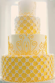 You might also like Yellow and White Wedding Cakes