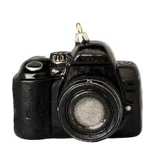 SLR Camera With Lens