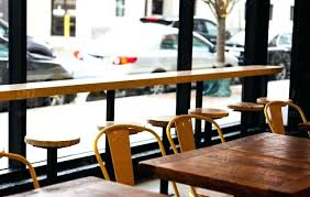 Restaurant Style Tables High Resolution Color Digital Photo Of A Row Rustic