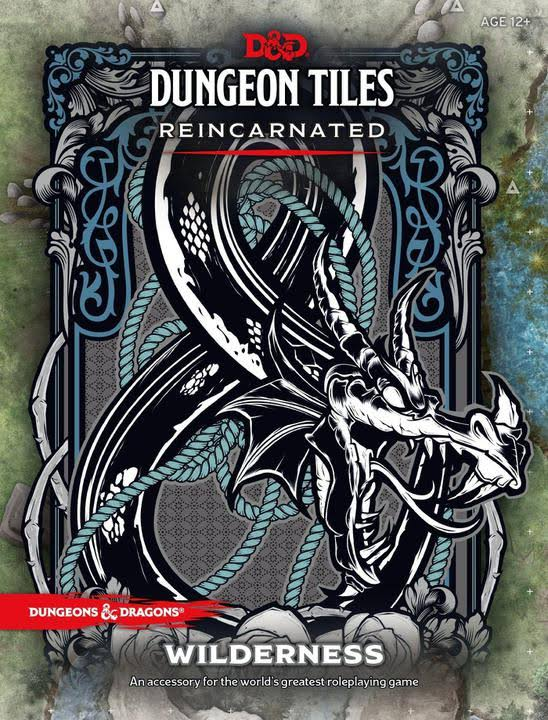 D&D Dungeon Tiles Reincarnated: Wilderness by Wizards RPG Team