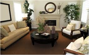 interior living room decor dark brown couch stupendous fresh