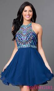 beaded illusion bodice homecoming dress promgirl