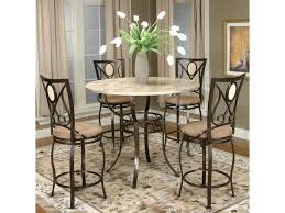 Cramco Trading Company - Nadia Five Piece Pub Table And Swivel Stool Set By  Cramco, Inc At Value City Furniture