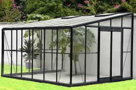 élégant serre de jardin adossée jskszm idées de conception
