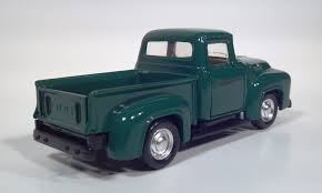 Toy Pickup Truck Scale Models Road Champs 1956 Ford F100 Pickup ...