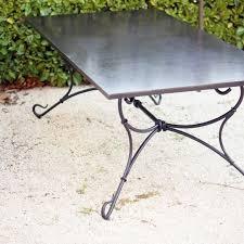 tables chaises et fauteuils en fer forgé pour jardin