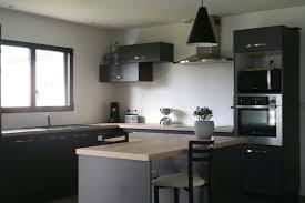 cuisine avec ilot central et coin repas réalisations cuisine en l avec îlot central et coin repas de