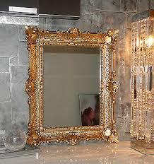 wandspiegel gold in antik barock bad spiegel flurspiegel frisierspiegel 56x46 ebay