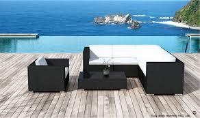 canap de jardin en r sine canapé jardin en résine tressée design en resine tressee