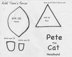 cat eye template tami s house pete the cat
