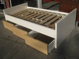 Platform Bed With Storage Plans by How To Make A Platform Bed Full Size Of Bed Frameshow To Make