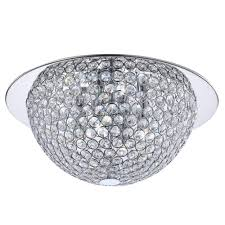 Home Depot Ceiling Lights Flush Mount by Chrome Flushmount Lights Ceiling Lights The Home Depot