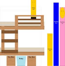 Triple Bunk Bed Plans Free by Plans Unique Bunk Bed Building Plans Bunk Bed Building Plans