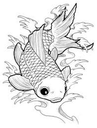 CAS77 Faux Betta Fish Stamps