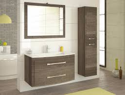 badmöbel set eiche karbon badezimmer möbel badset mit waschbecken led