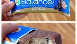 Cookie Dough Balance Bar Review