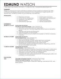 Maintenance Mechanic Resume Inspirational Technician Igniteresumes Of New Skills A