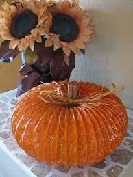Make Dryer Vent Pumpkins by A Diamond In The Stuff Glitter Dryer Vent Pumpkins Lindas Ideas