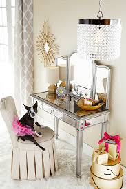 Pier One Glass Dining Room Table by Pier 1 U0027s Hayworth Vanity Makes A Glamorous Gift For Anyone Who