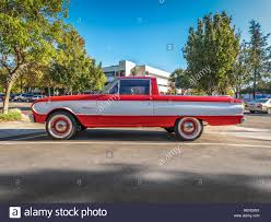 100 Ranchero Truck Vintage 1963 Ford Falcon Drivers Side View Stock Photo