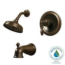 Pegasus Estates Series Single Handle 1 Spray Shower Faucet in