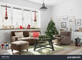skandinavisches nordisches wohnzimmer einem mit مبل