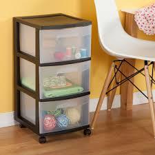 Sterilite 4 Drawer Cabinet 2 Pack by Sterilite 3 Drawer Cart Walmart Com