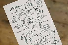 Wedding Invitation Map Luxury Elegant Yet Rustic Custom Maps From Smock