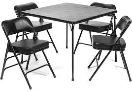 Amazon.com: 5pc. XL Series Folding Card Table And 2 In. Ultra Padded ... The Ohio State Buckeyes Padded Metal Folding Card Table Style Chair Amazoncom Xl Series Vinyl And Set 5pc 2 In Ultra Triple Braced Fabric 7 Best Tables 2017 Youtube 7733 2533 Vtg Retro Samsonite 4 Chairs 30 Fniture Lifetime Contemporary Costco For Indoor And Vintage Wonderful With Picture Of Foldingchairs4less Sets Using Cheap Pretty Home Find Livingroom Nice Lawn Ding Knife Wood