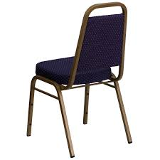 100 Stupid People And Folding Chairs Navy Fabric Banquet Chair FDBHF1ALLGOLD0849NVYGG Bizchaircom